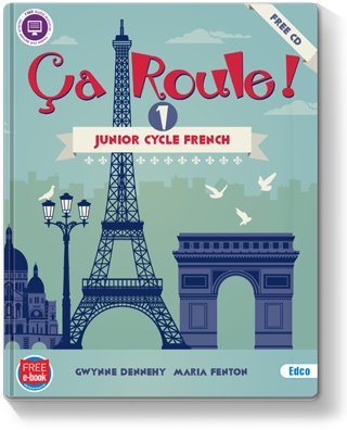 Ça Roule ! 1 Textbook Cover 320px